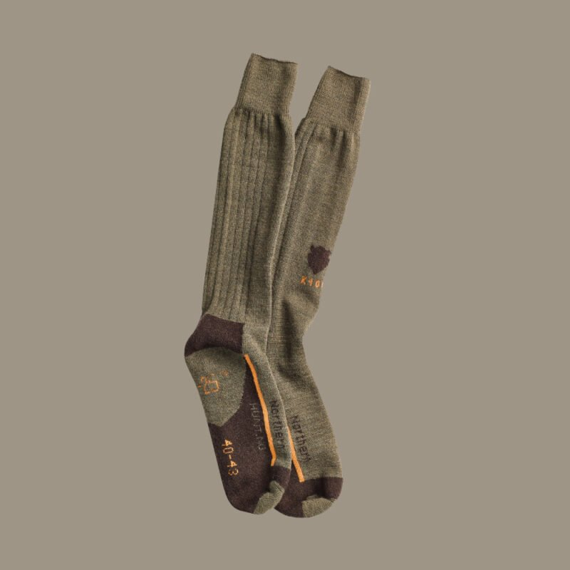 K400 wool socks with perfect fit for hunting jagt jagd
