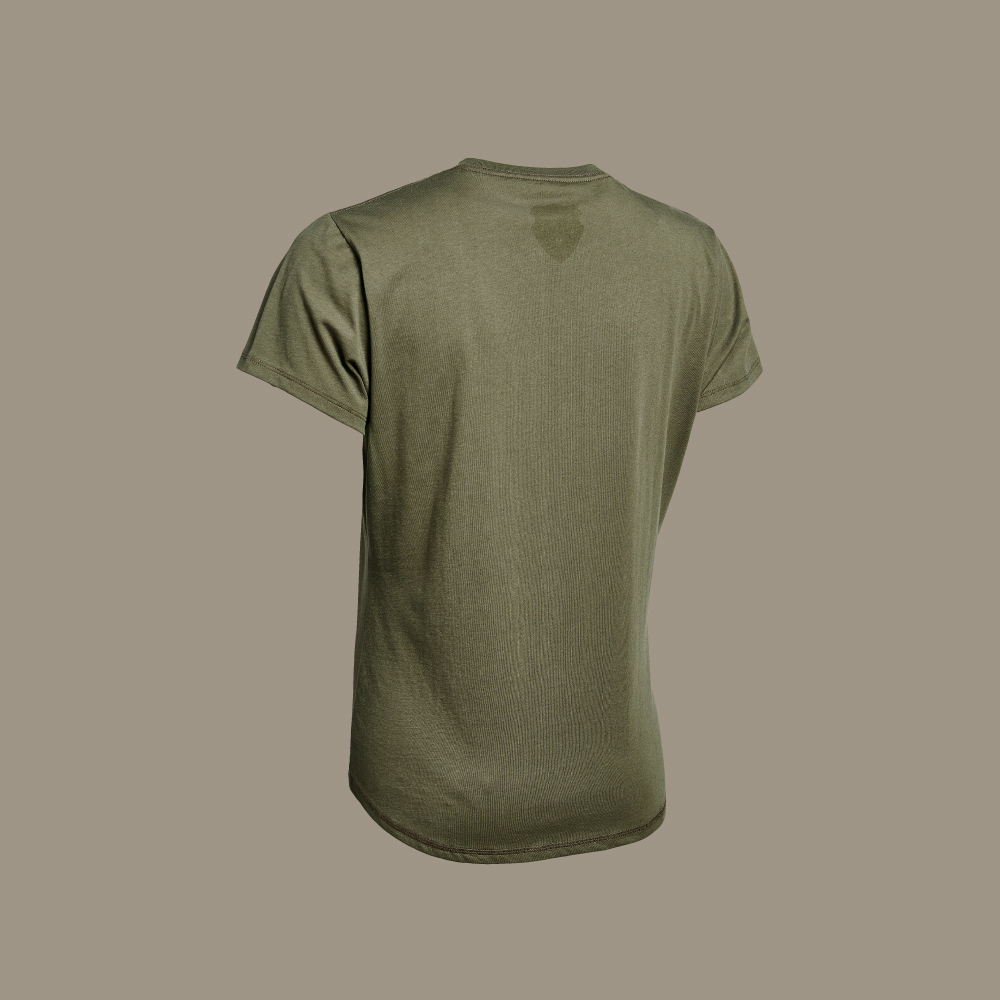 MEJSE womens cotton t-shirt for hunting jagd jagt
