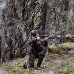 ASFRID AUD camouflage hunting trousers jagt jagd