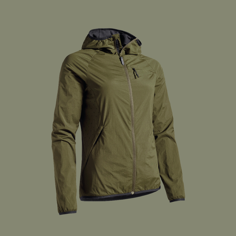FRIDA windbreaker with wool lining for women hunters jagt jagd