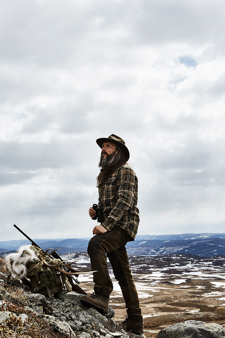 GORM hunting overshirt with pile inside jagt jagd
