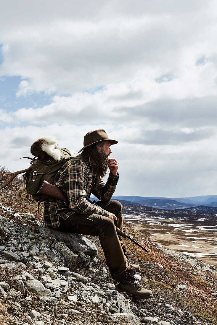 GORM overshirt with pile for hunting jagt jagd