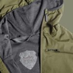 LAU windbreaker with wool lining for hunting jagt jagd