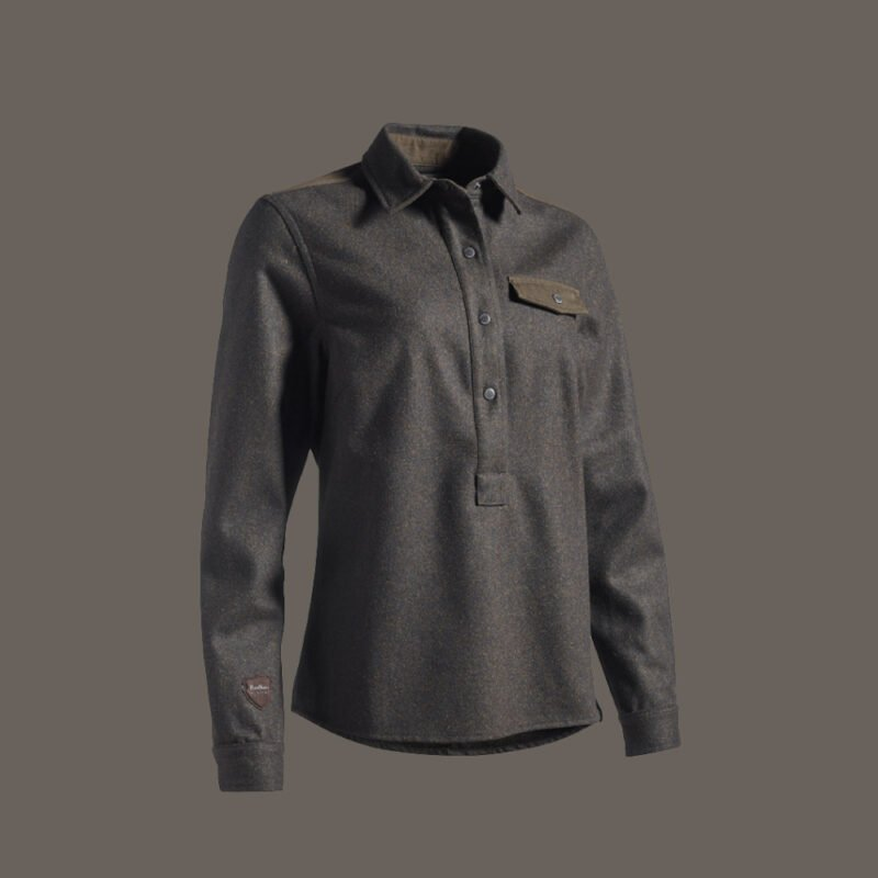 RØSKVA wool hunting overshirt for women jagt jagd