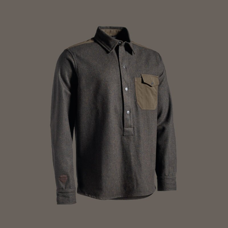TRISTAN wool overshirt for hunting jagt jagd
