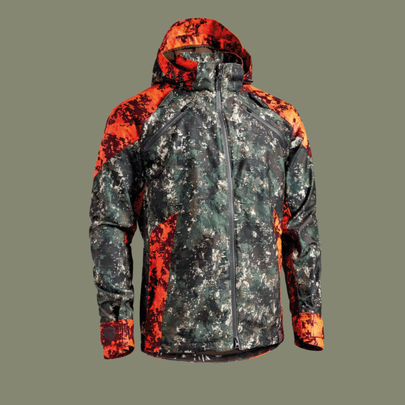 SKJOLD ASK orange camouflage hunting jacket jagd jagt