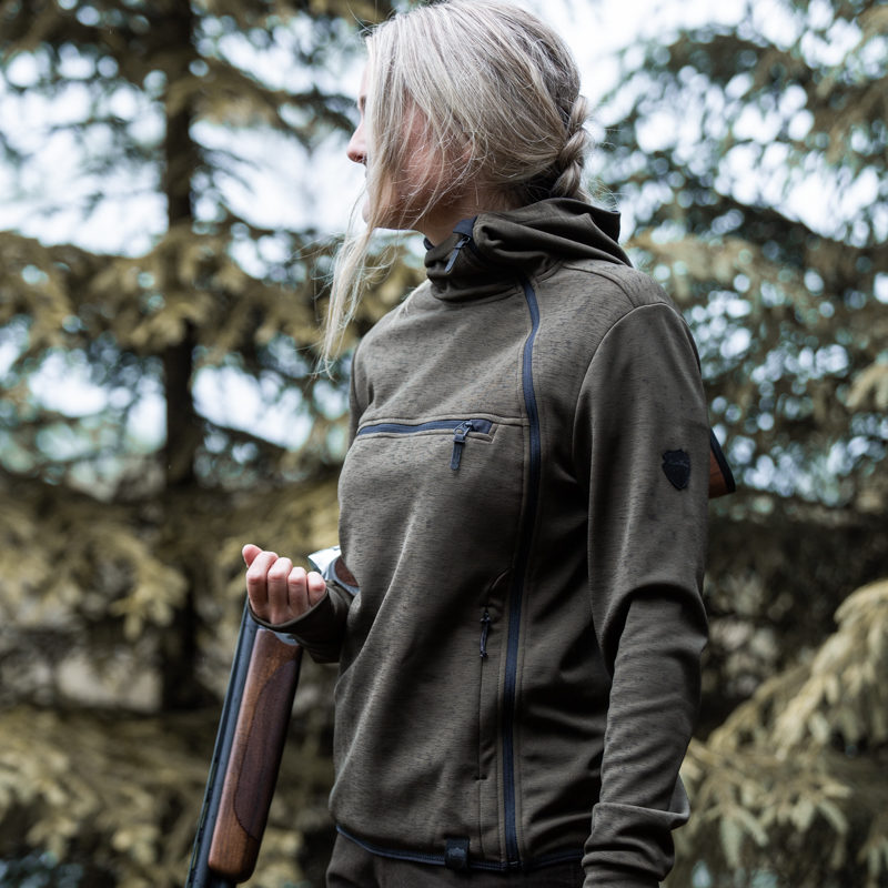 SAGA women kvinder fleece jagt jagd outdoor northern hunting